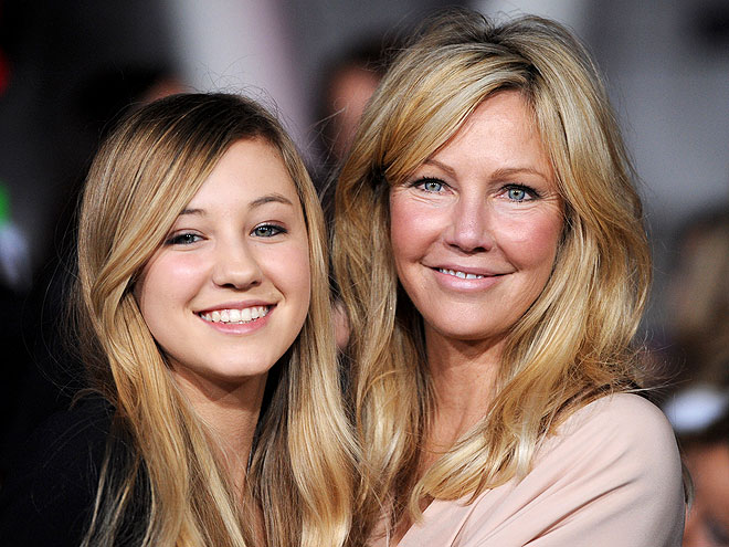 HEATHER & AVA photo | Heather Locklear