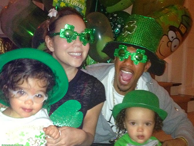 GOING GREEN photo | Mariah Carey, Nick Cannon