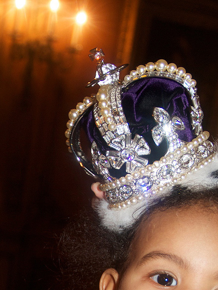 HIP-HOP ROYALTY: BLUE IVY CARTER photo | Beyonce Knowles