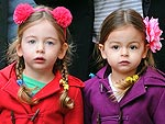 So Adorable! Tabitha & Loretta's Chic Twin Style | Sarah Jessica Parker