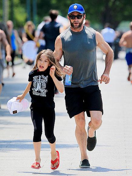RUNNING photo | Hugh Jackman