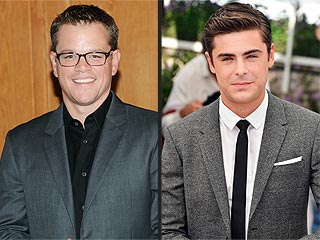 What Was Matt Damon Doing at a Performance with Zac Efron & Jay-Z? | Matt Damon, Zac Efron