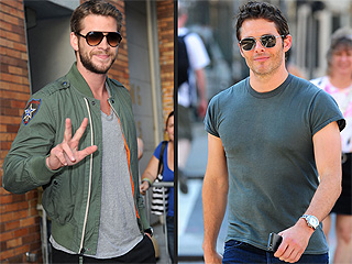 Liam Hemsworth & James Marsden's Sunday Funday with the Boys   | James Marsden, Liam Hemsworth