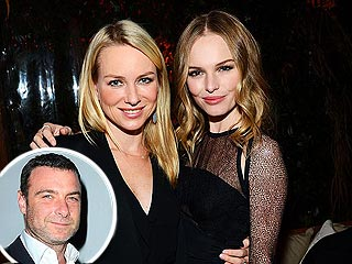 Liev Schreiber, Naomi Watts, Kate Bosworth & Fiancé Have Date Night in West Hollywood | Kate Bosworth, Liev Schreiber, Naomi Watts