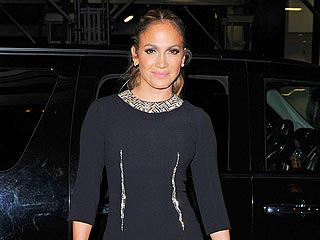 Jennifer Lopez & Casper Smart Share &#39;Sweet&#39; Dinner in West Hollywood | Jennifer Lopez