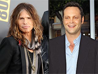 Steven Tyler & Vince Vaughn's Near-Miss Hangout in West Hollywood | Steven Tyler, Vince Vaughn