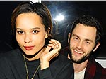 Zoe Kravitz & Penn Badgley Keep It Cute & Cuddly in N.Y.C. | Penn Badgley, Zoe Kravitz