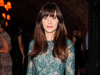 Zooey Deschanel's Night Out with Roasted Octopus in West Hollywood | Zooey Deschanel
