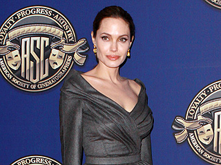 Angelina Jolie Looks 'Totally Peaceful' in Hollywood | Angelina Jolie