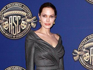 Angelina Jolie Looks 'Totally Peaceful' in Hollywood | Angelina Jolie