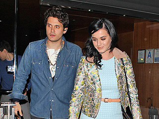 John Mayer & Katy Perry's 'Very Cute' Night Out | John Mayer, Katy Perry