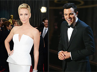 Inside Seth MacFarlane's Grand Oscar Party | Charlize Theron, Seth MacFarlane
