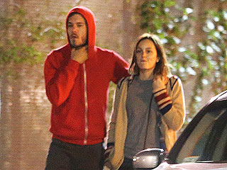 Leighton Meester Snuggles with Adam Brody in Venice | Adam Brody, Leighton Meester