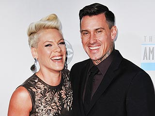 Pink's Atlanta Outing: Brussels Sprouts, Wine & Husband Carey Hart | Carey Hart, Pink