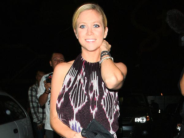 Brittany Snow Parties with Pitch Perfect Cast