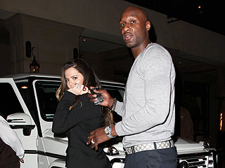 Khlo&#233; Kardashian & Lamar Odom&#39;s &#39;Lovey Dovey&#39; Dinner | Khloe Kardashian, Lamar Odom