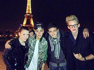 Justin Bieber Hits Moulin Rouge in Paris | Justin Bieber