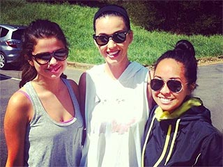 Katy Perry & Selena Gomez Made This Hiker's Day! | Katy Perry, Selena Gomez