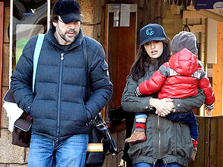 Pen&#233;lope Cruz & Javier Bardem&#39;s Son &#39;Over the Moon&#39; to Meet Mickey Mouse | Javier Bardem, Penelope Cruz