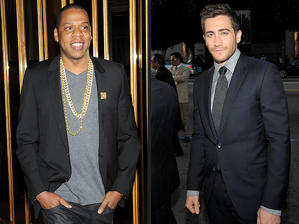 Jay Z, Jake Gyllenhaal Catch a Game Together