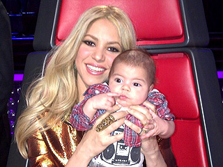 Shakira's Son Visits The Voice | Shakira