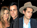 Awkward? Jennifer Aniston & Ex John Mayer Dine Two Tables Away From Each Other | Jennifer Aniston, John Mayer, Justin Theroux