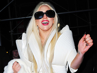 Lady Gaga Keeps Quiet at Chateau Marmont | Lady Gaga