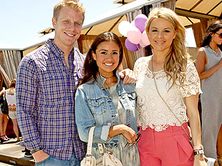 Sean Lowe Celebrated Mother's Day Early with Catherine Giudici & Ali Fedotowsky