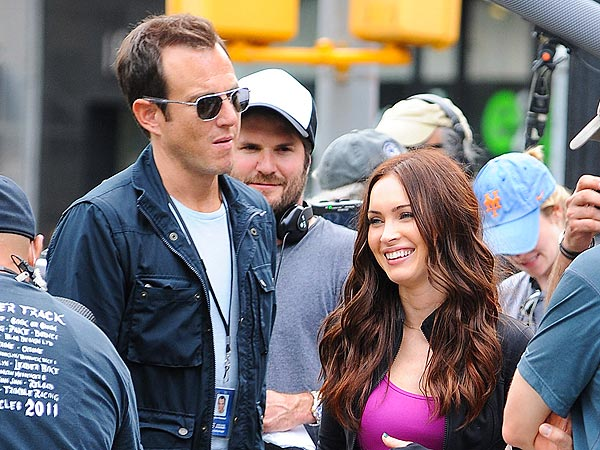 Will Arnett & Megan Fox Share Tacos, Desserts & Conversation in N.Y.C.