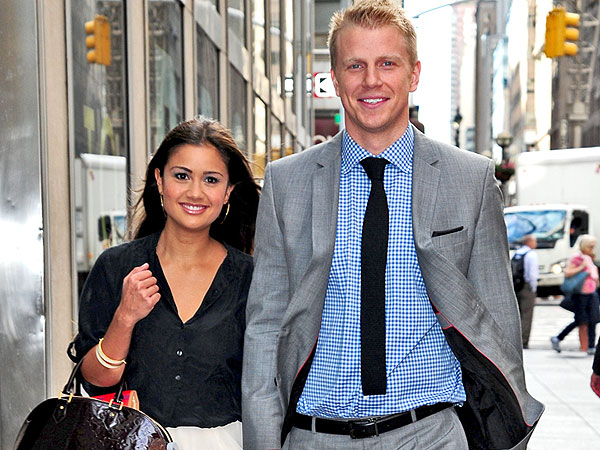 Bachelor's Sean Lowe and Catherine Out in New York