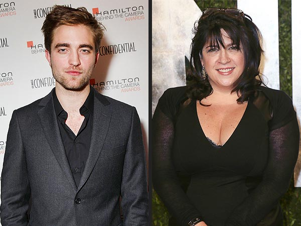 Robert Pattinson & Fifty Shades of Grey Author E L James Party Together