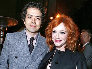 Christina Hendricks & Geoffrey Arend's Date Night with Michael Cera | Christina Hendricks, Geoffrey Arend