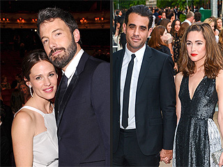 Double Date! Ben and Jen Step Out with Rose and Bobby | Ben Affleck, Jennifer Garner, Rose Byrne