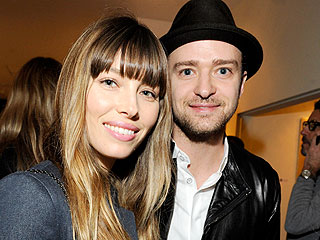 Justin Timberlake and Jessica Biel Enjoy Chris Kirkpatrick's Wedding