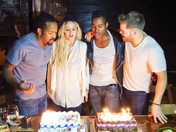Liam Hemsworth Helps Ashlee Simpson Celebrate Her Birthday in Atlanta