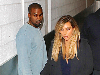 Kim & Kanye Are All About Baby Nori During Dinner in Beverly Hills | Kanye West, Kim Kardashian