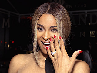 Ciara's 15-Carat Sparkler Takes Center Stage in Houston | Ciara