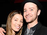 Aww! Jessica Looked 'Very Proud' at Justin's N.Y.C Show | Jessica Biel, Justin Timberlake, Uma Thurman