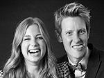 Stars Take the TCAs!   Emily VanCamp, Gabriel Mann