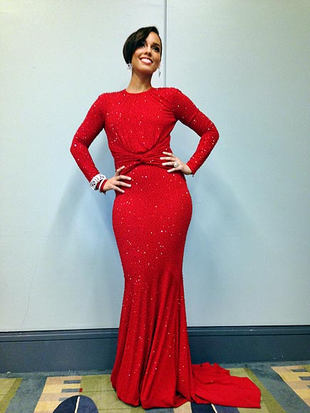 Alicia Keys's Exclusive Inauguration Photos