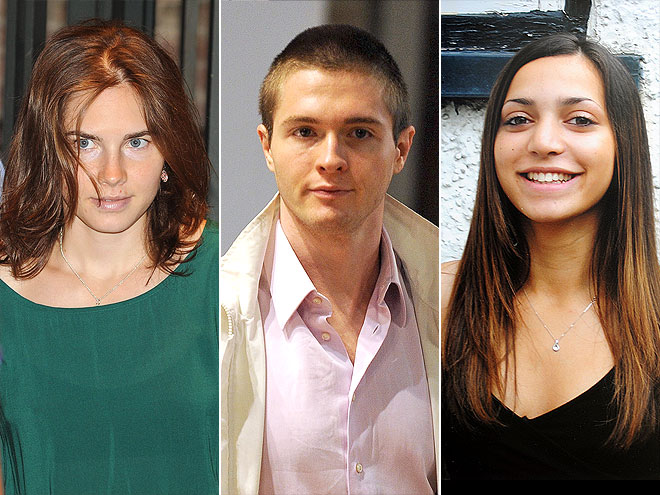 1. MURDER ABROAD photo | Amanda Knox