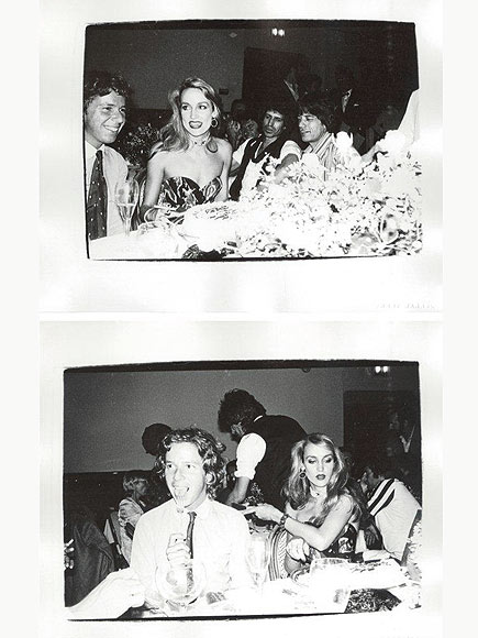 DINNER PARTY photo | Jerry Hall, Mick Jagger