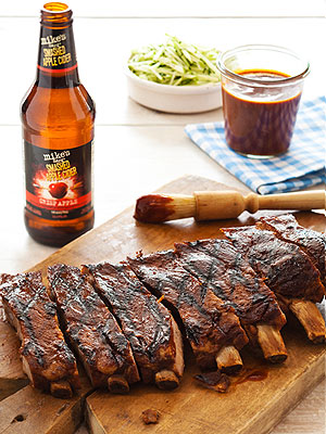 Smashed Apple Cider BBQ Ribs| Great Ideas