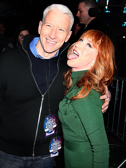 photo | Anderson Cooper, Kathy Griffin