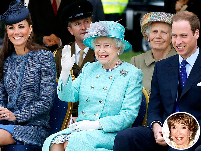 photo | Kate Middleton, Prince William, Queen Elizabeth II, Shirley MacLaine
