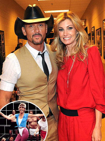  photo | Faith Hill, Olivia Newton-John, Tim McGraw