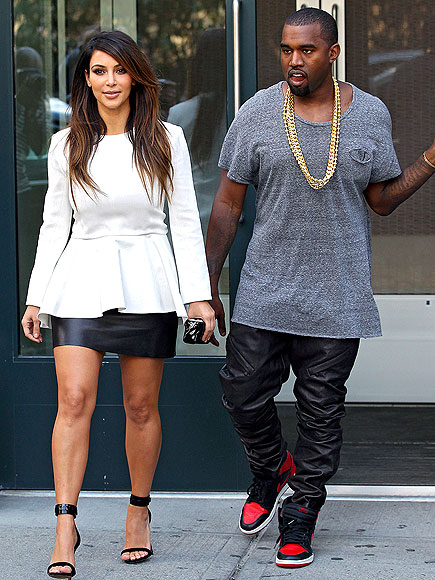 photo | Kanye West, Kim Kardashian
