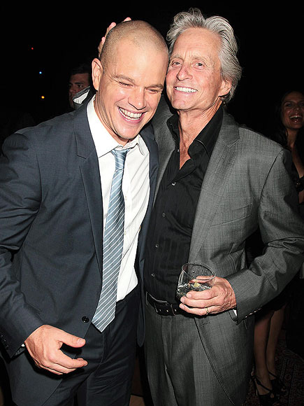 photo | Matt Damon, Michael Douglas