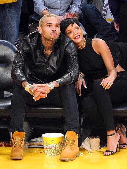 photo | Chris Brown, Rihanna