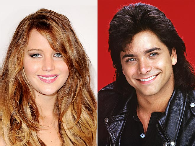 photo | Jennifer Lawrence, John Stamos